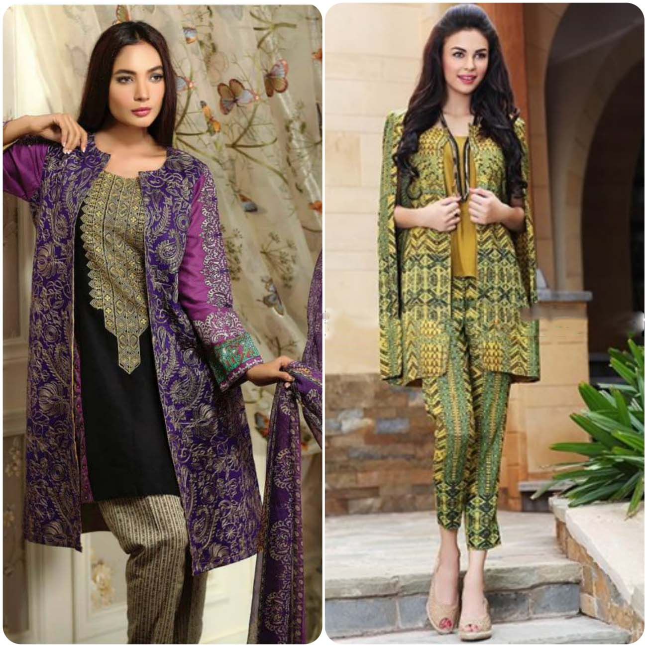Open Frocks And Double Shirt Dresses Collection 2016-2017...styloplanet (9)