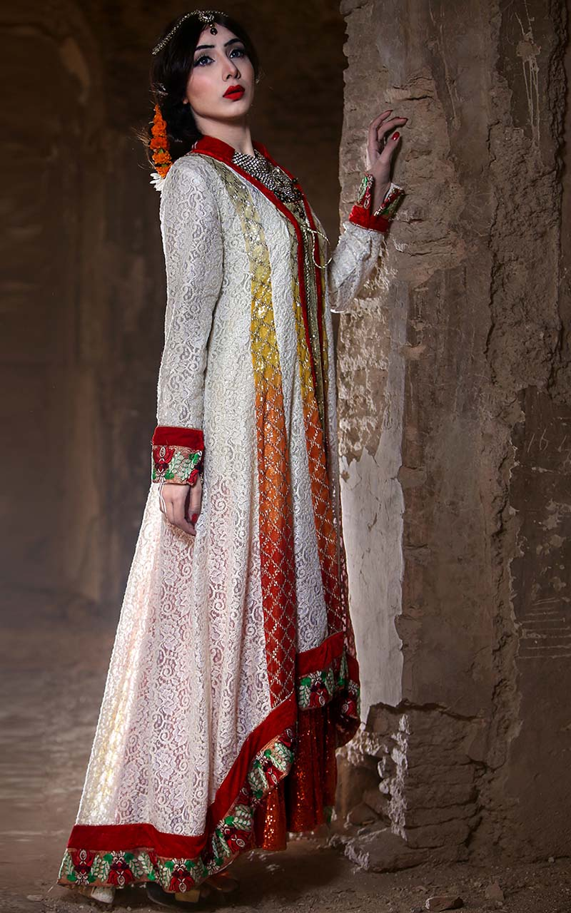 zahra ahmed party wear dresses 2016