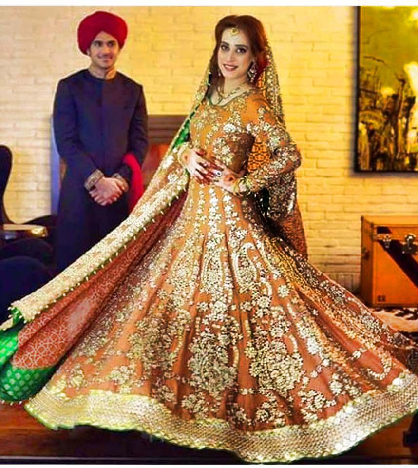 Ali Xeeshan Stylish Bridal Dresses Designs Collection 2016-2017...styloplanet (16)