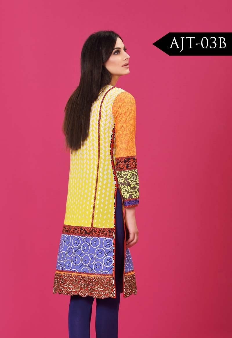 Asim jofa latest kurties dress 2016