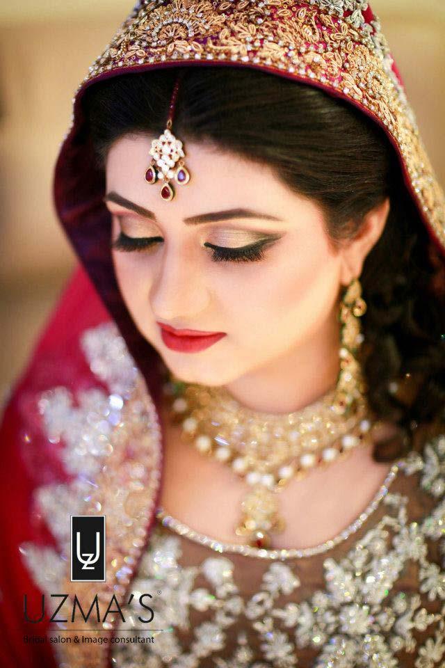 Pakistani Bridal Makeup Ideas and Tips-Tutorial