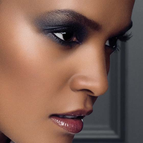 Black Smokey Eyes Makeup Step By Step- Tutorial (19)