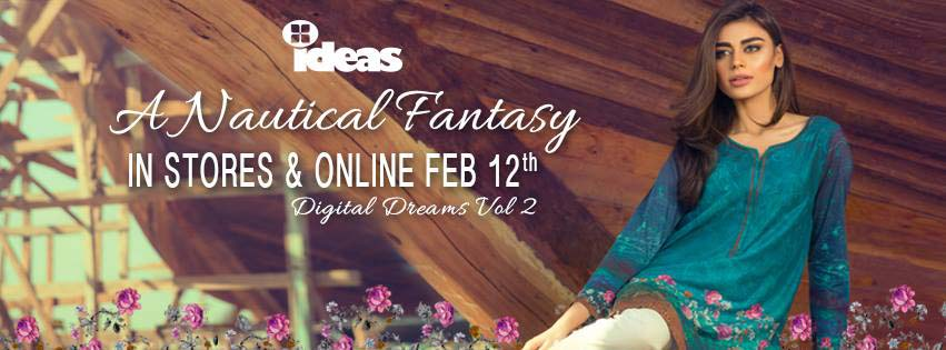 Gul Ahmed digital dreams collection 2016