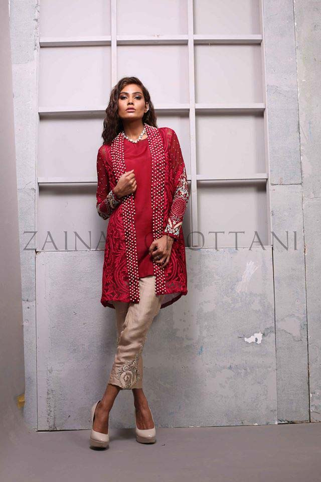 Zainab Chottani Luxry Pret Wear Collection 2016-2017