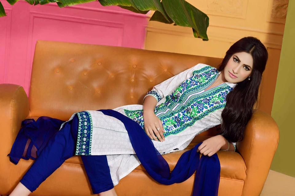 ShaPosh Embroidered Casual and Formal Dresses Collection 2016-2017