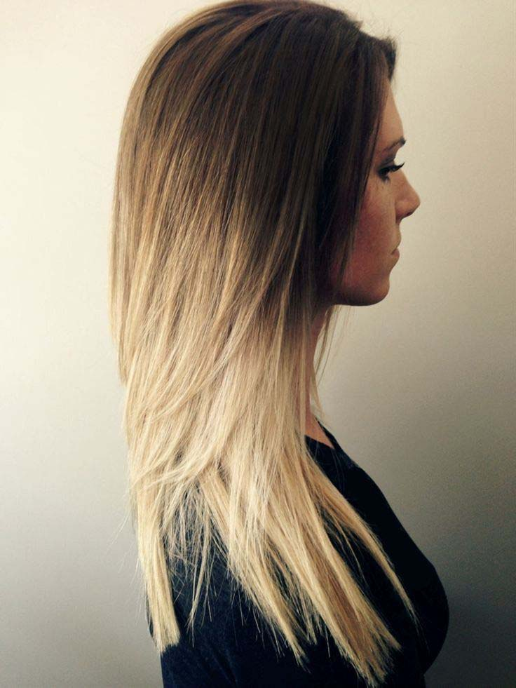 Brown Ombre with Honey Gold