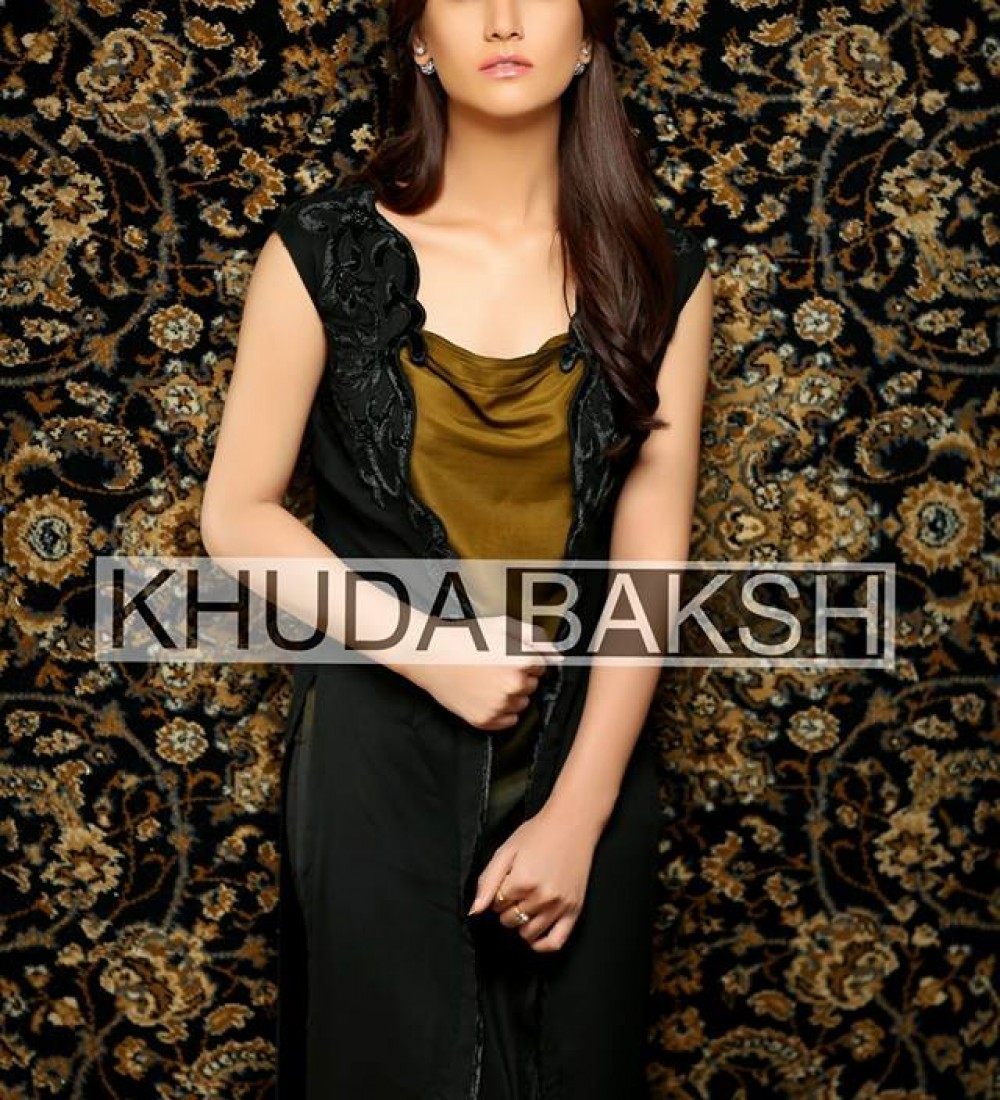 Khuda Baksh Latest Party Wear Collection For Women 2016-2017 (12)
