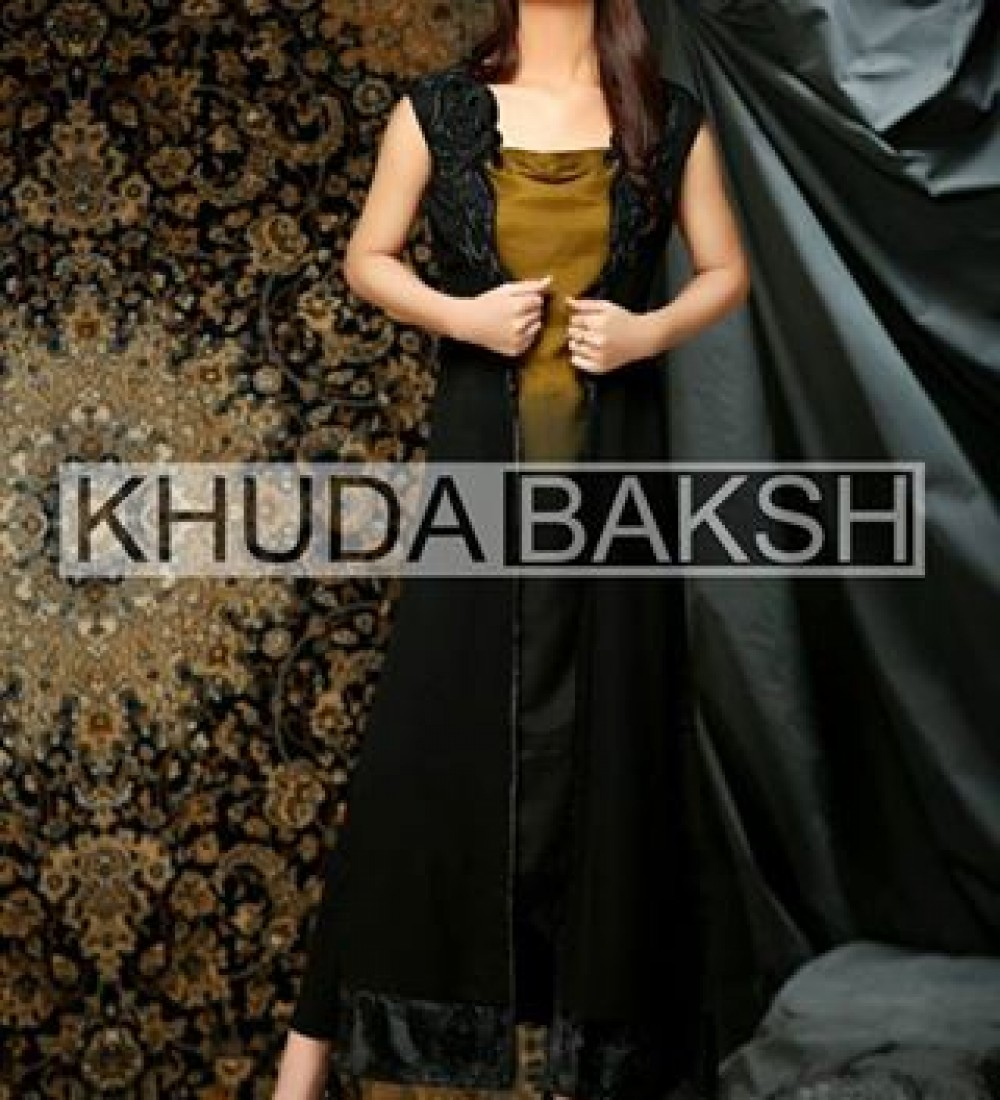 Khuda Baksh Latest Party Wear Collection For Women 2016-2017 (13)