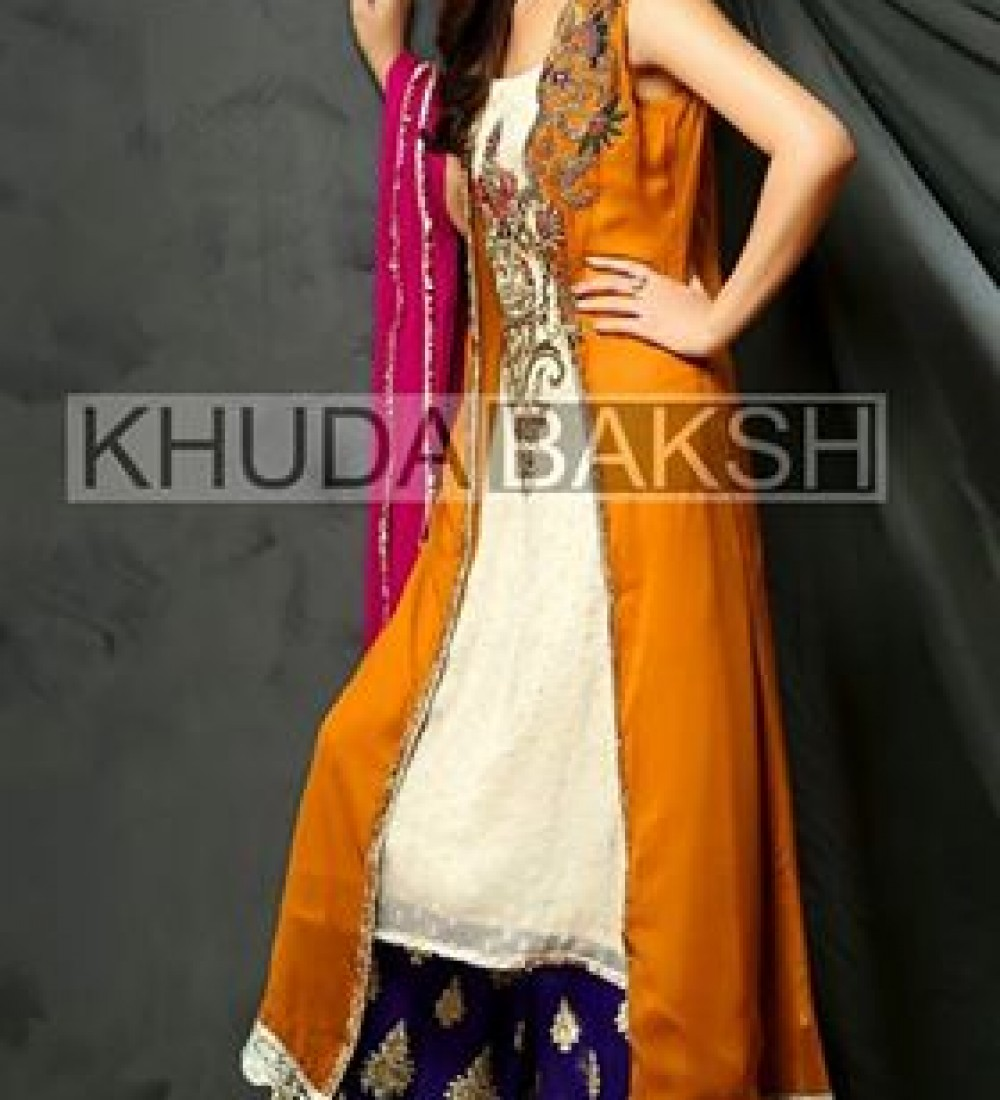Khuda Baksh Latest Party Wear Collection For Women 2016-2017 (4)