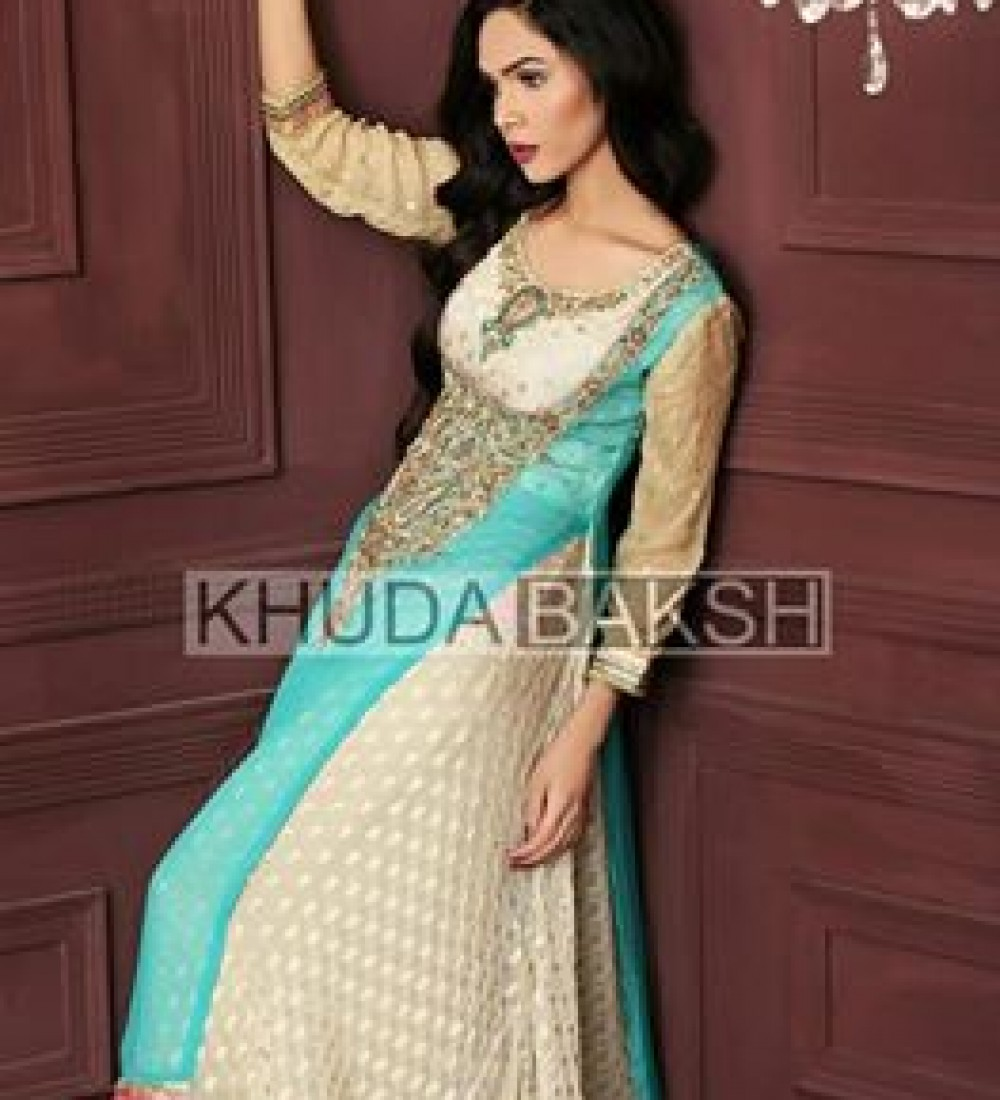 Khuda Baksh Latest Party Wear Collection For Women 2016-2017 (5)
