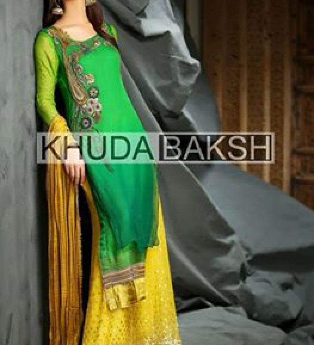 Khuda Baksh Latest Party Wear Collection For Women 2016-2017 (6)