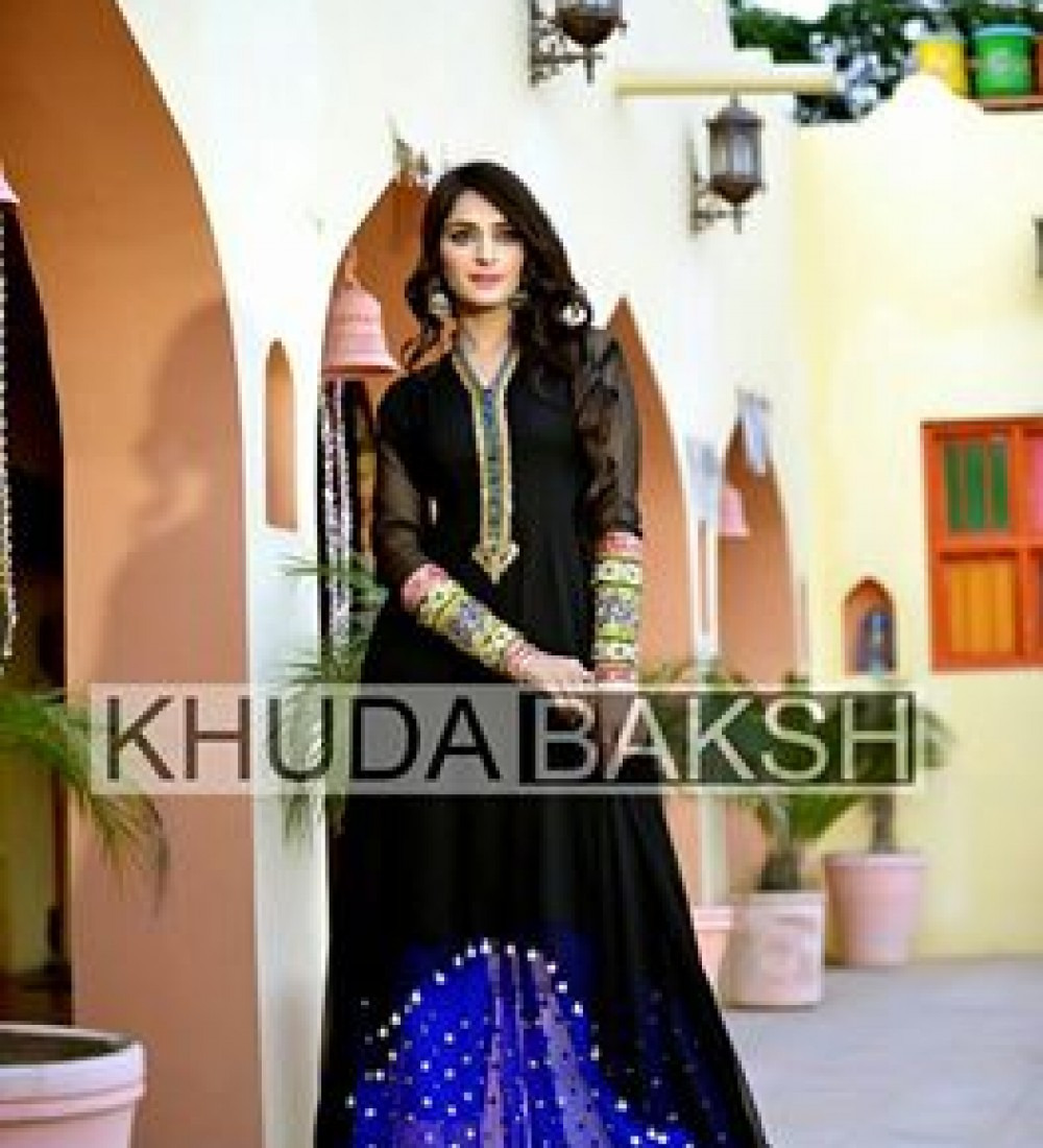 Khuda Baksh Latest Party Wear Collection For Women 2016-2017 (7)