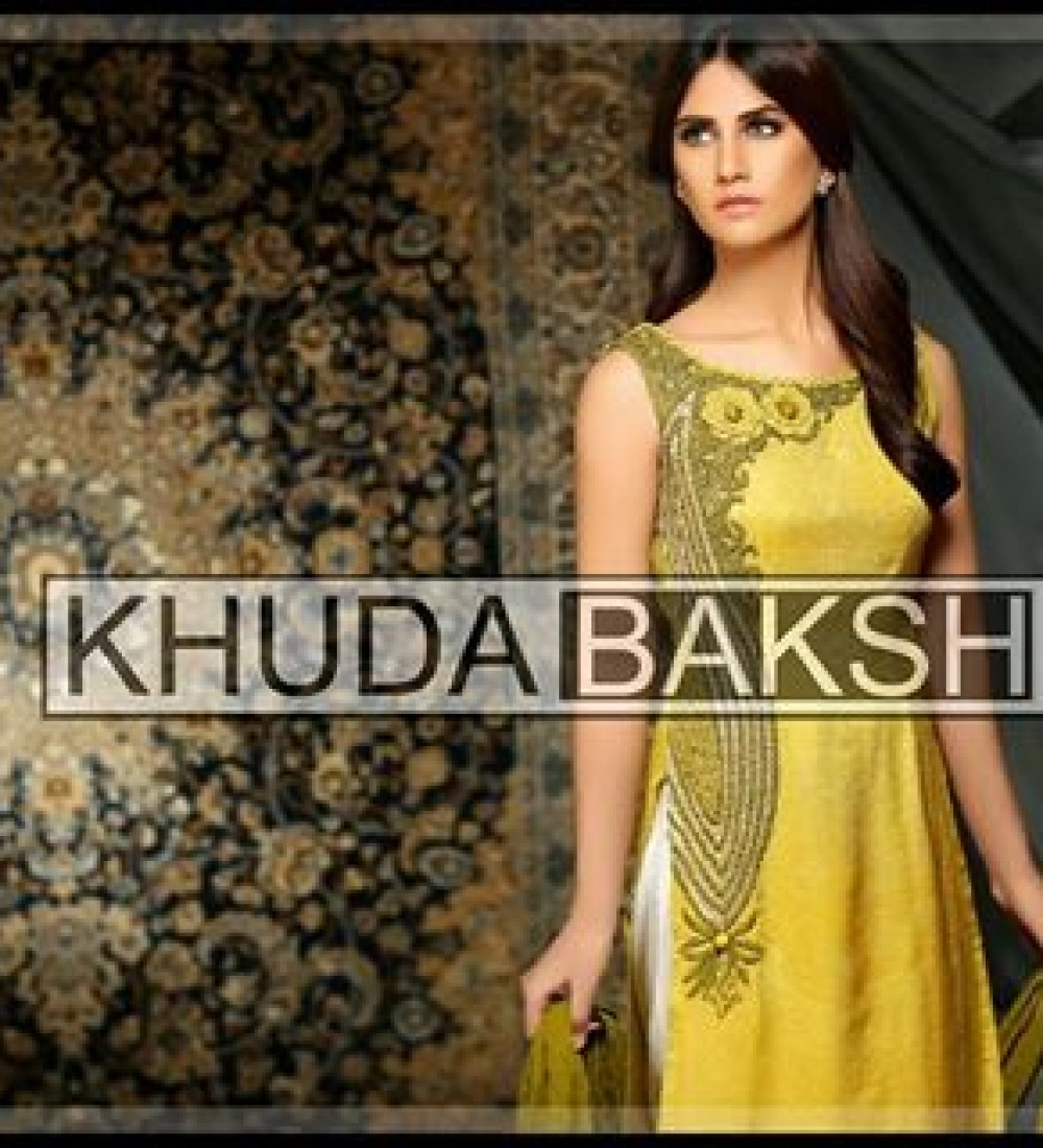 Khuda Baksh Latest Party Wear Collection For Women 2016-2017 (9)