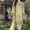 Latest Embroidered Party Wear Shirts With Trousers Designs Collection 2016-2107 (1)