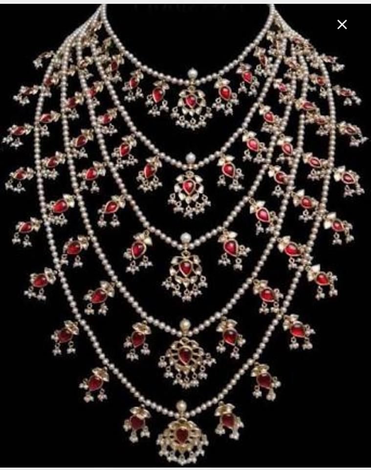 Latest Kundan Jewellery Designs & Trends for Asian Women 2016 (17)