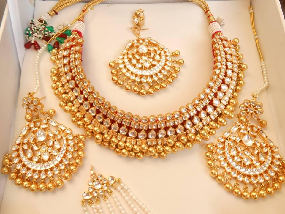 Latest Kundan Jewellery Designs & Trends for Asian Women 2016 (21)