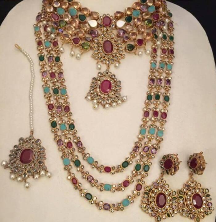 kundan necklaces designs collection