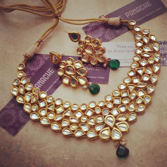 Latest Kundan Jewellery Designs & Trends for Asian Women 2016 (30)