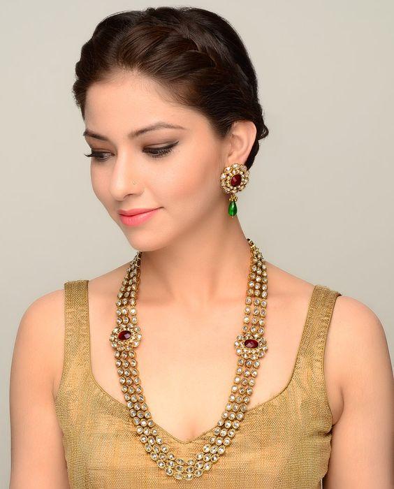 Latest Kundan Jewellery Designs & Trends for Asian Women 2016 (31)