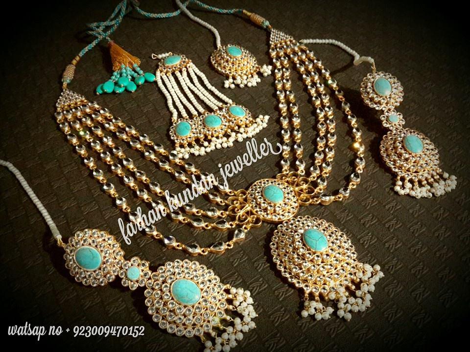 Latest Kundan Jewellery Designs & Trends for Asian Women 2016 (37)