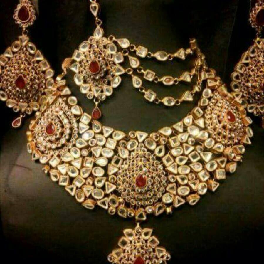 Kundan jewelry designs collection
