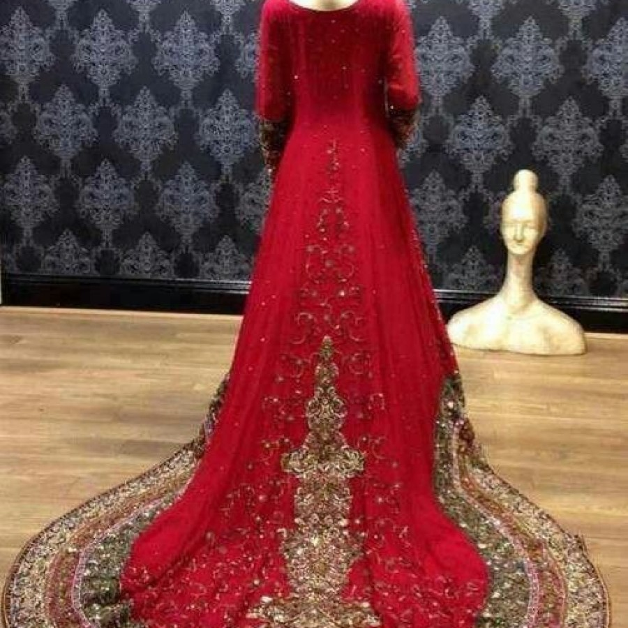 Latest Long Tail Wedding Maxis Dresses Collection 2016-2017 (9)