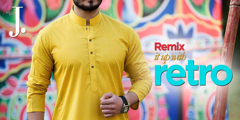 Latest Summer Men Kurta Shalwar Designs Collection 2016-2017 (12)