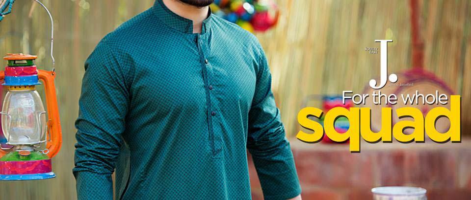 Latest Summer Men Kurta Shalwar Designs Collection 2016-2017 (13)