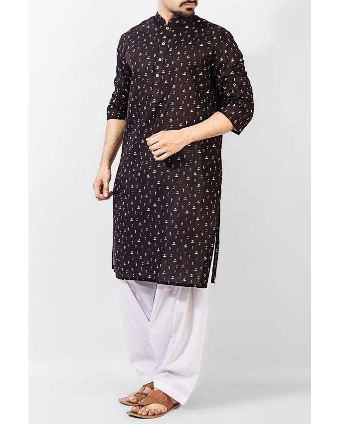 Latest Summer Men Kurta Shalwar Designs Collection 2016-2017 (15)