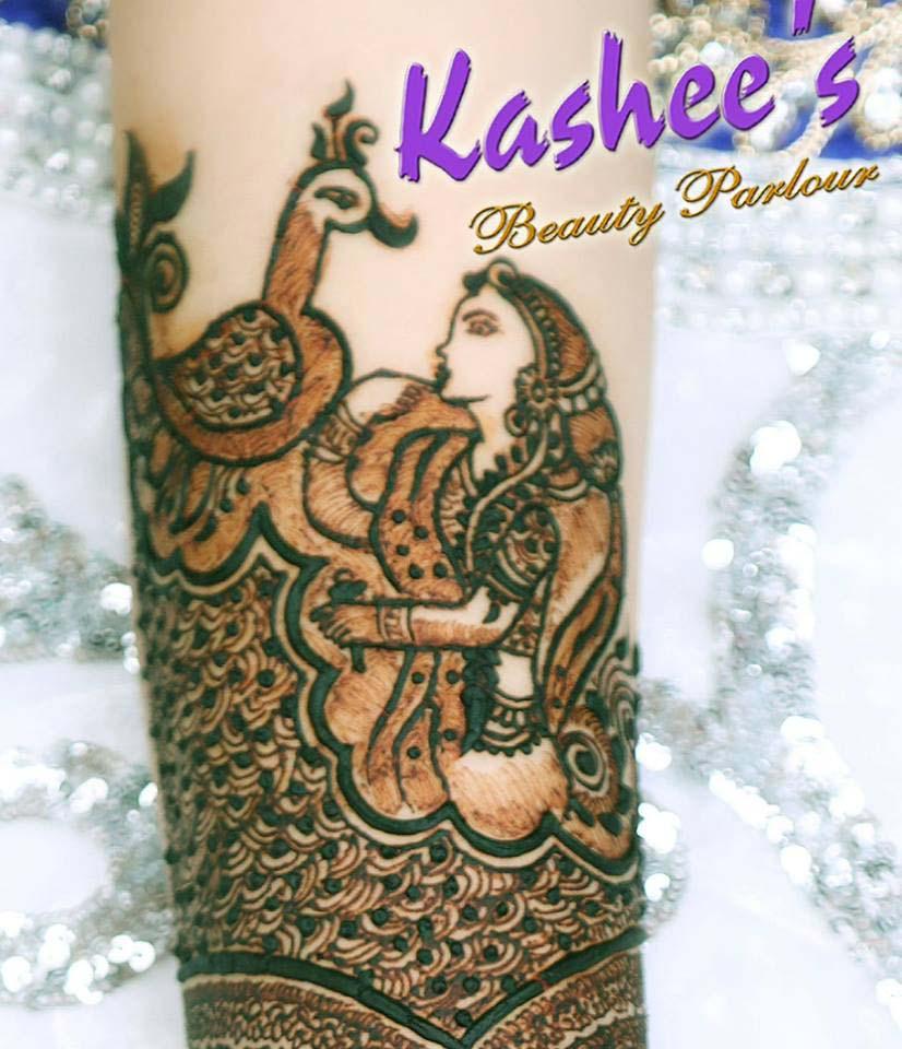 Lovely Kashee's Mehndi Designs For Girls 2018-2019