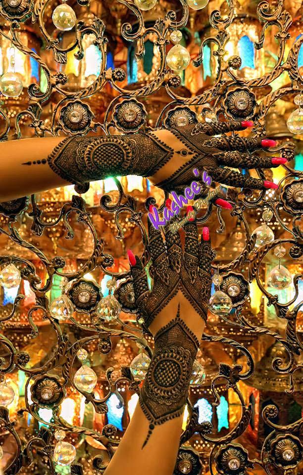 Kasheeu0026#39;s Beautiful Mehndi Designs For Girls : Stylo Planet