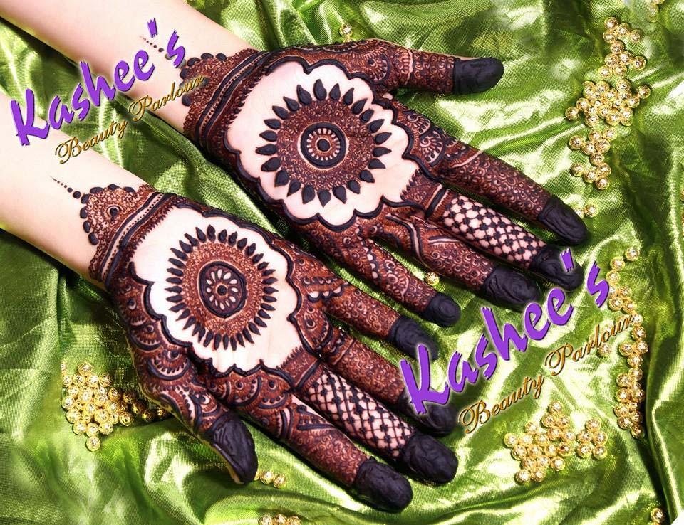 Kashees Beautiful Mehndi Designs For Girls