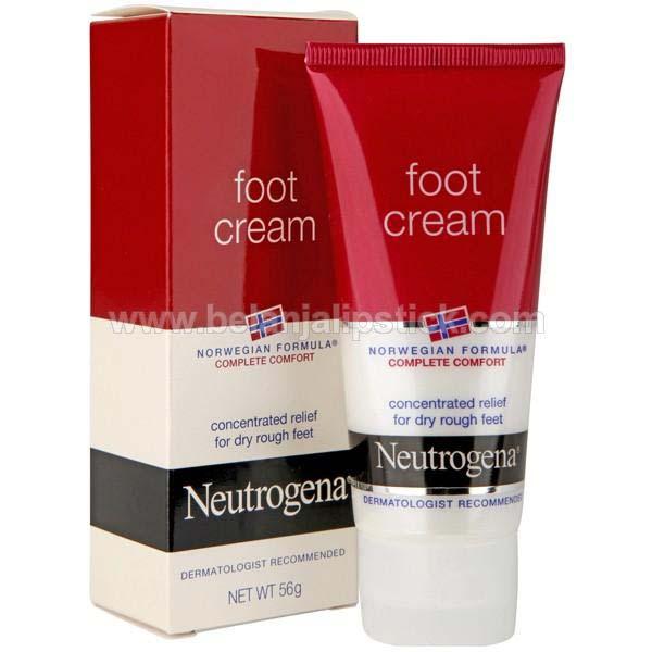 Neutrogena Foot Cream For Dry Heels