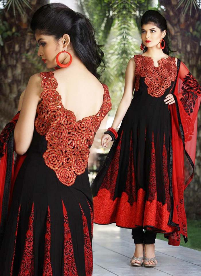Pakistani & Indian Party Wear Designer Dresses For Women 2016-2017 (12)