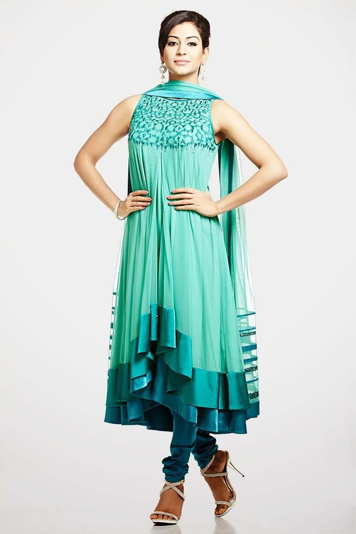 Pakistani & Indian Party Wear Designer Dresses For Women 2016-2017 (13)