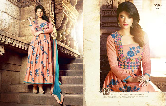 Pakistani & Indian Party Wear Designer Dresses For Women 2016-2017 (14)
