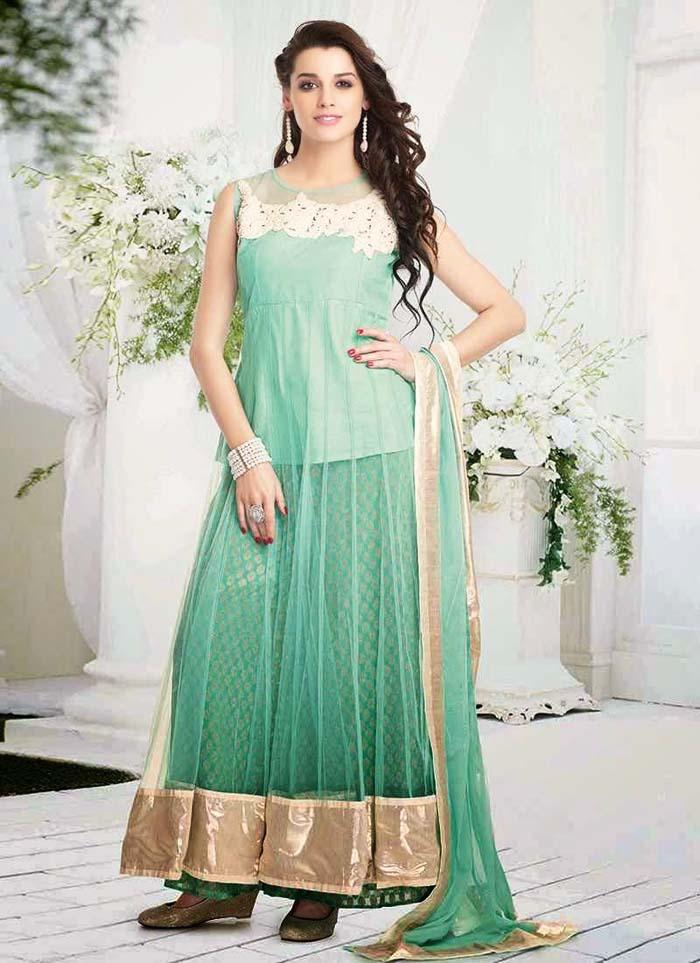Pakistani & Indian Party Wear Designer Dresses For Women 2016-2017 (16)