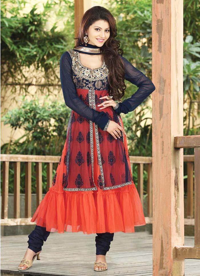 Pakistani & Indian Party Wear Designer Dresses For Women 2016-2017 (17)
