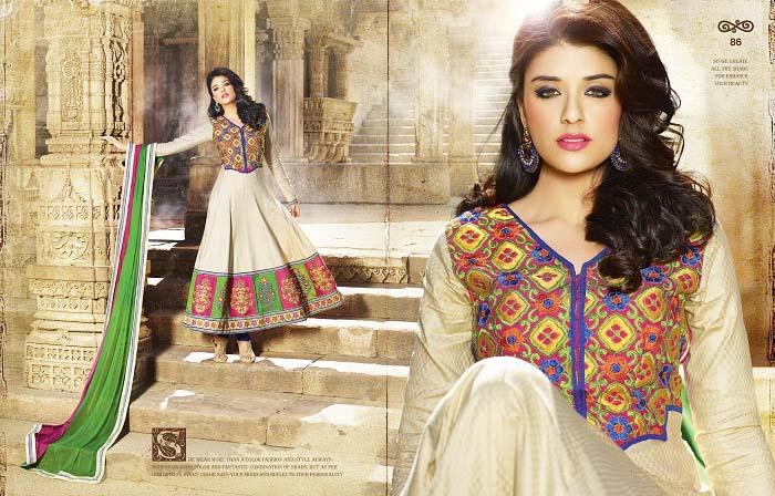 Pakistani & Indian Party Wear Designer Dresses For Women 2016-2017 (19)
