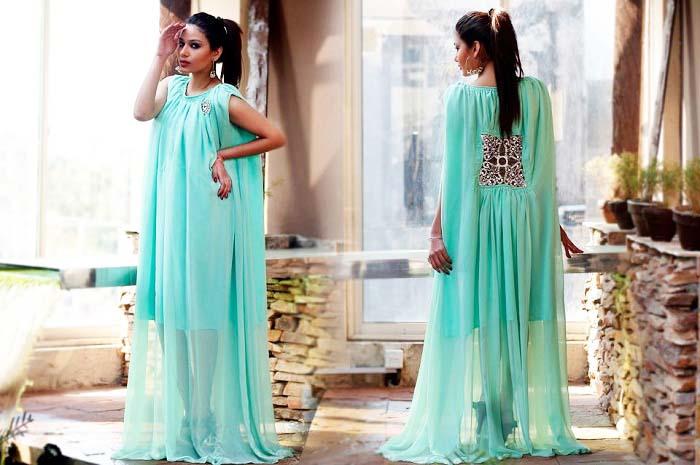 Pakistani & Indian Party Wear Designer Dresses For Women 2016-2017 (21)