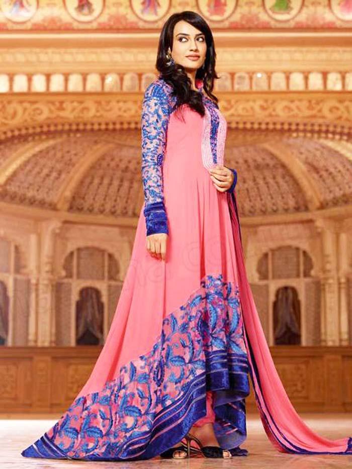Pakistani & Indian Party Wear Designer Dresses For Women 2016-2017 (24)