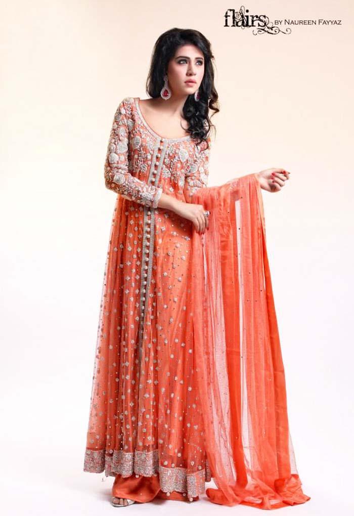 Pakistani & Indian Party Wear Designer Dresses For Women 2016-2017 (29)