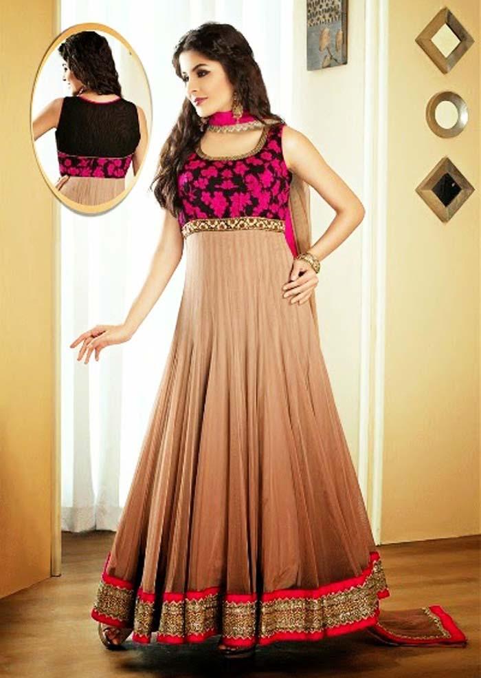 Pakistani & Indian Party Wear Designer Dresses For Women 2016-2017 (30)