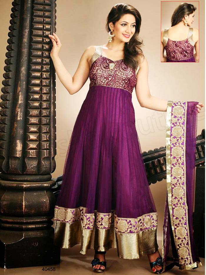 Pakistani & Indian Party Wear Designer Dresses For Women 2016-2017 (31)