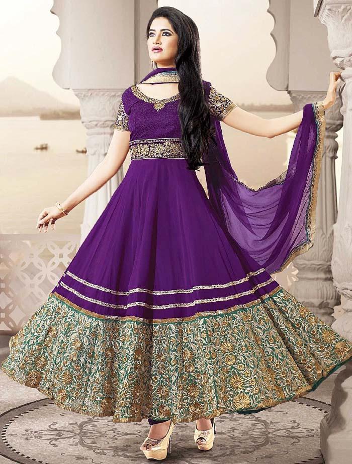Pakistani & Indian Party Wear Designer Dresses For Women 2016-2017 (4)