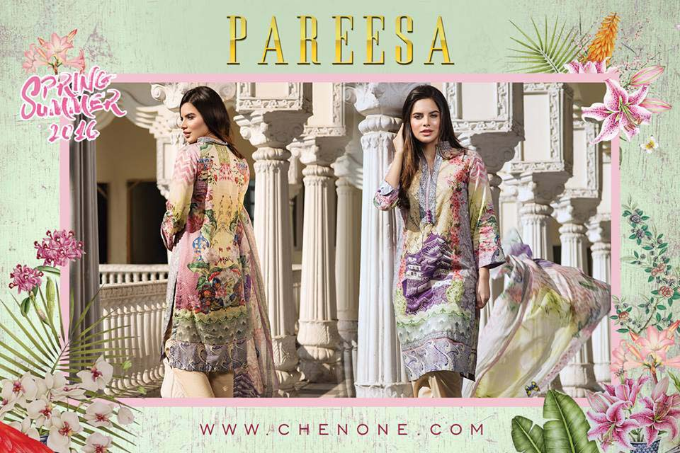 Pareesa By Chen One Spring Summer Lawn Collection 2016-2017 (11)