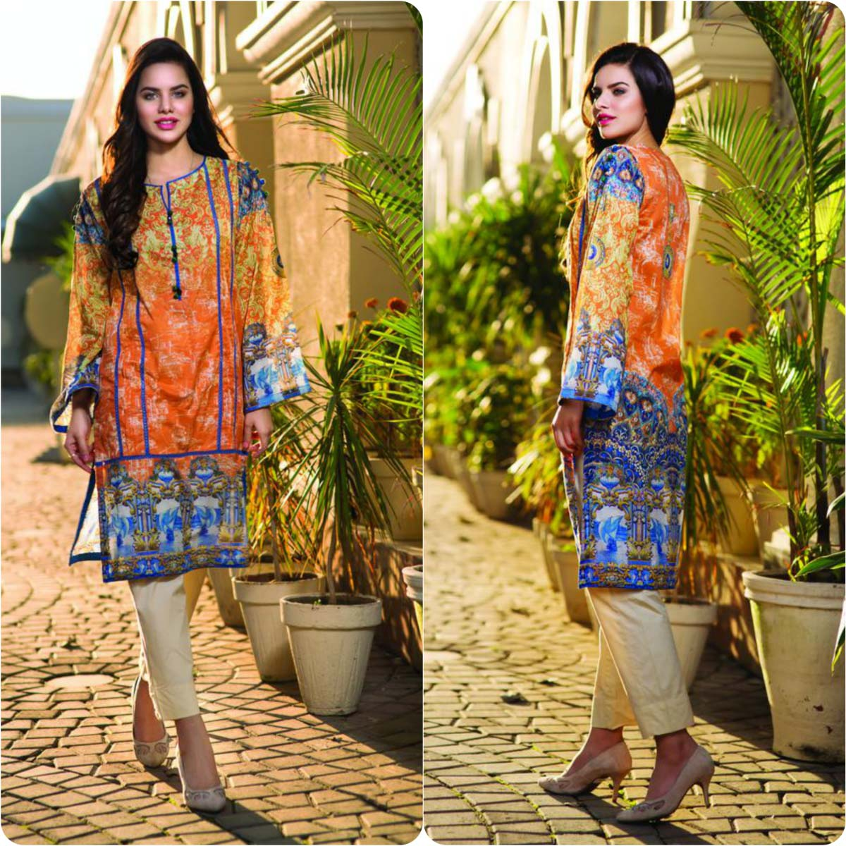 Pareesa By Chen One Spring Summer Lawn Collection 2016-2017 (2)