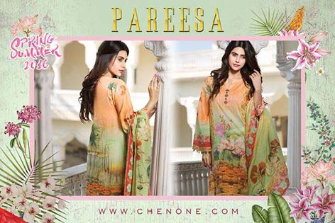 Pareesa By Chen One Spring Summer Lawn Collection 2016-2017 (4)