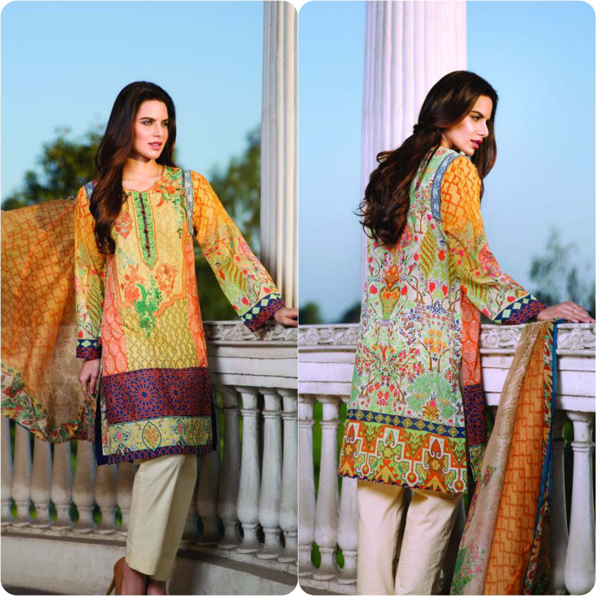 Pareesa By Chen One Spring Summer Lawn Collection 2016-2017 (6)