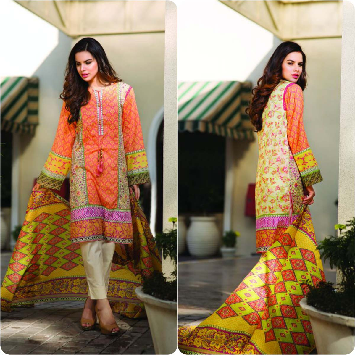 Pareesa By Chen One Spring Summer Lawn Collection 2016-2017 (8)